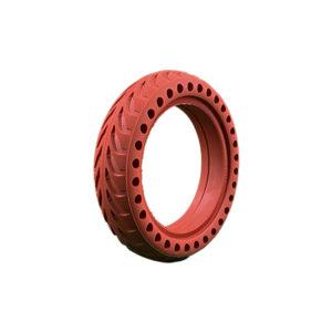 pneu plein 8 5x2 xiaomi rouge wattiz pneus trottinette electrique