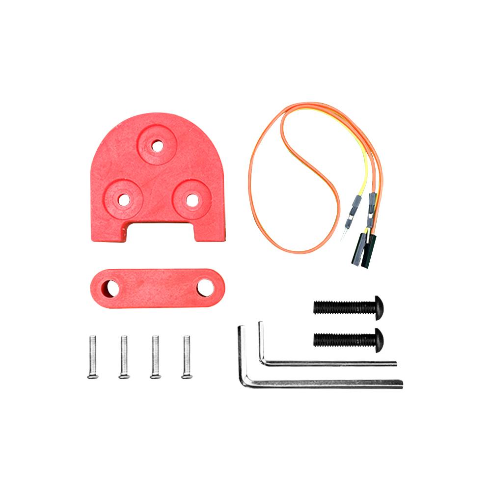 kit rehausse rouge 10pouces xiaomi m365 trottinette electrique wattiz