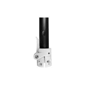 potence xiaomi m365 blanche trottinette electrique wattiz