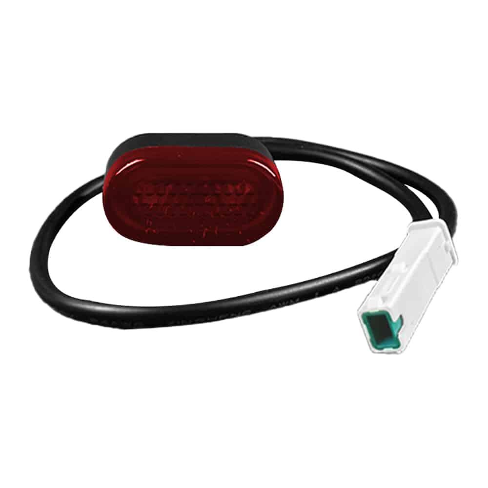 garde boue blanc led xiaomi m365 trottinette electrique wattiz