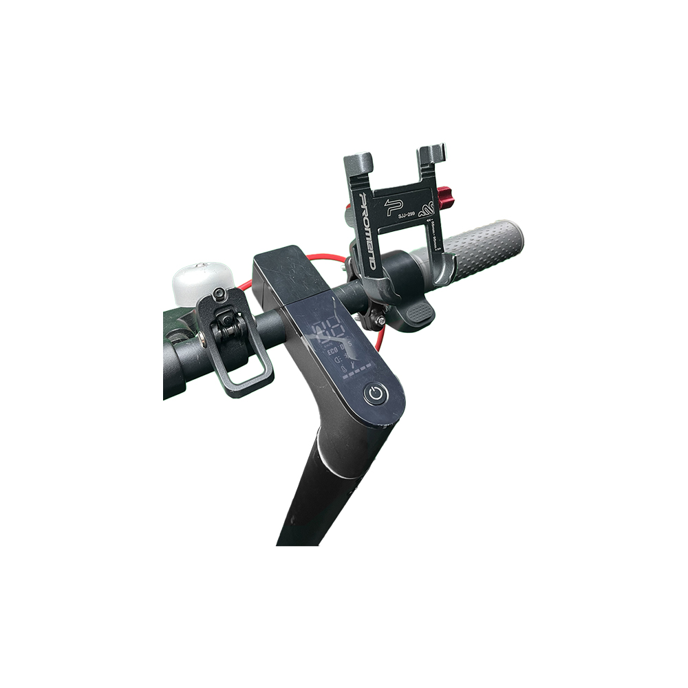 support telephone 3d titane trottinette electrique wattiz