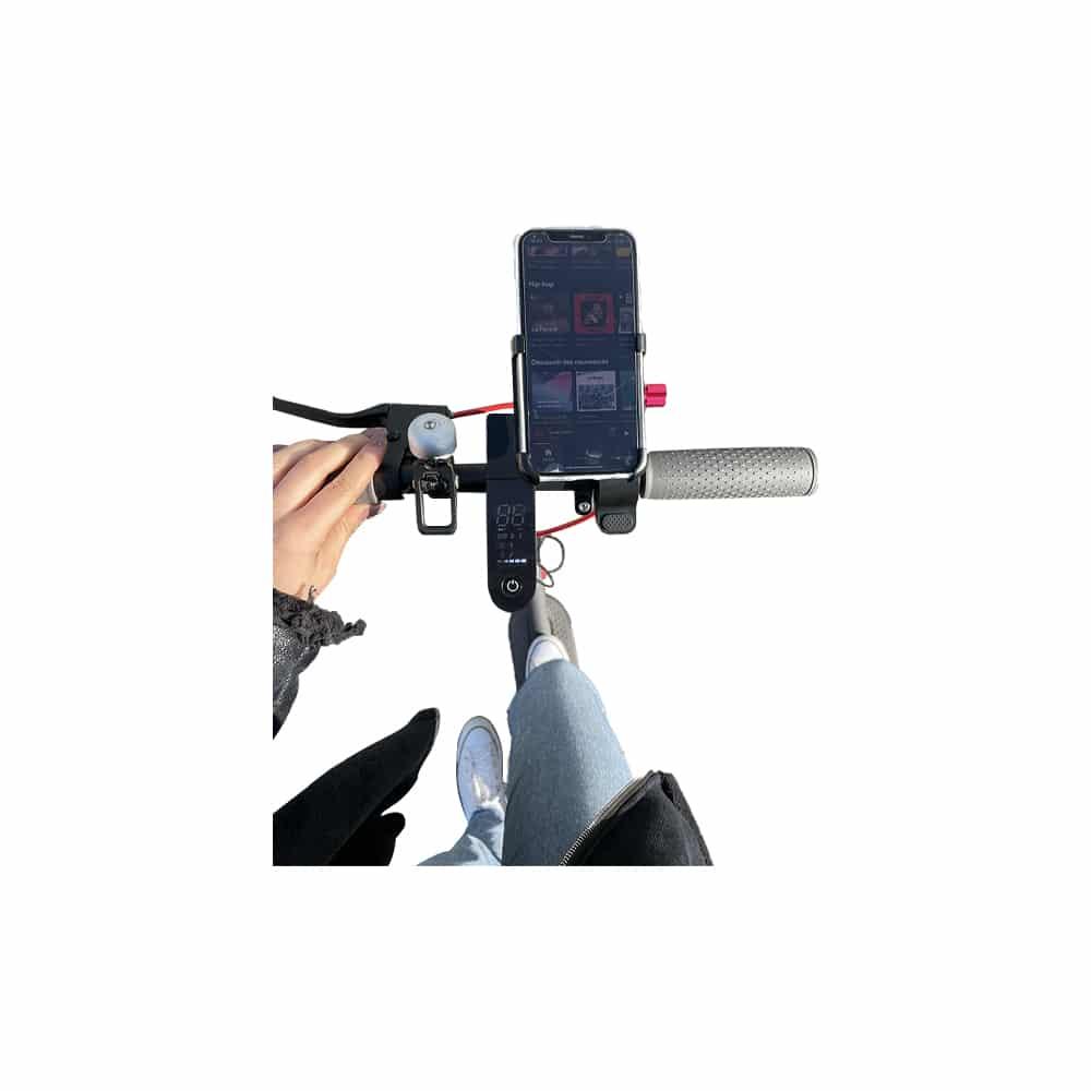 support telephone 3d silver trottinette electrique wattiz