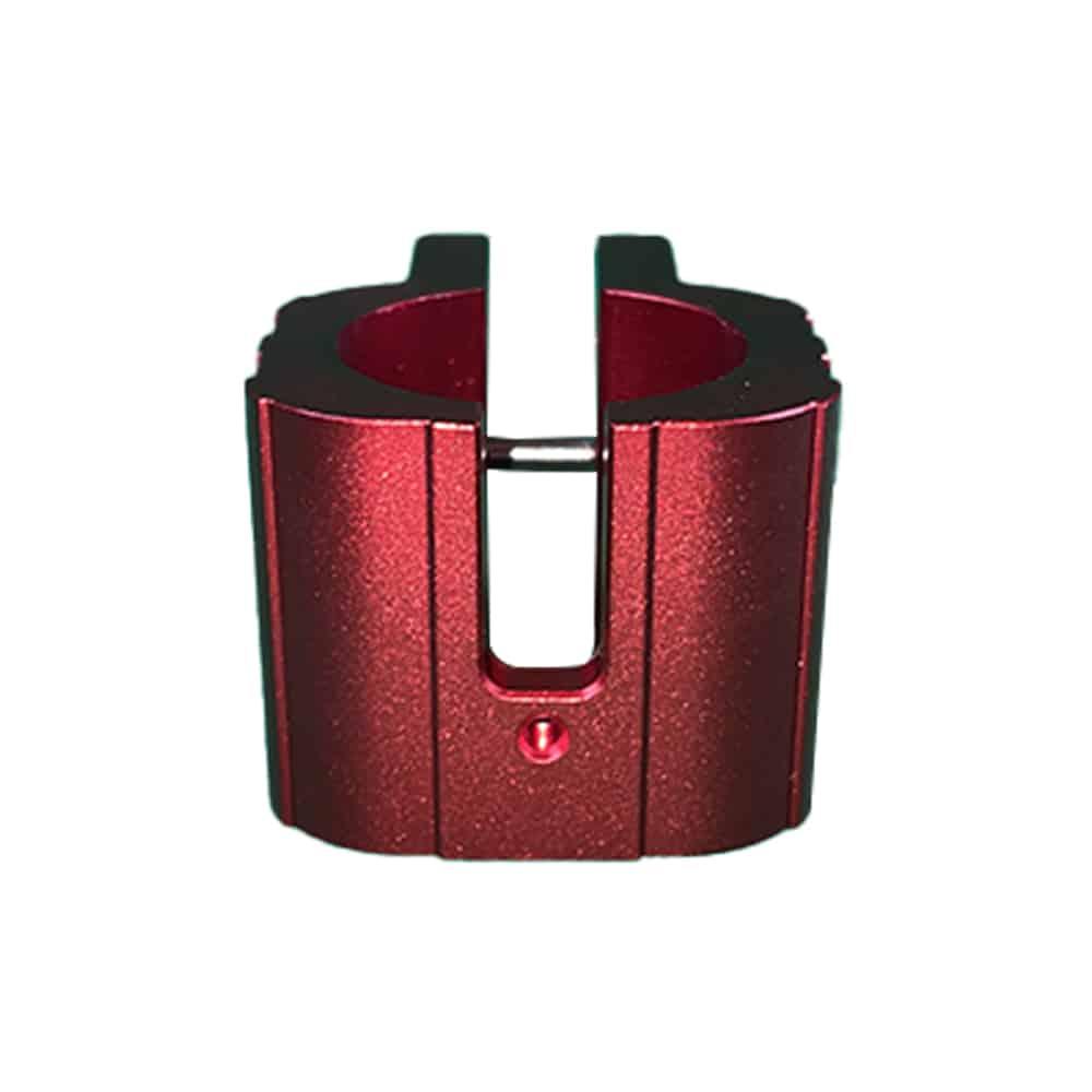Bague Clamp Renforcée Serrage potence Zero 10X - Couleur rouge trottinette electrique wattiz