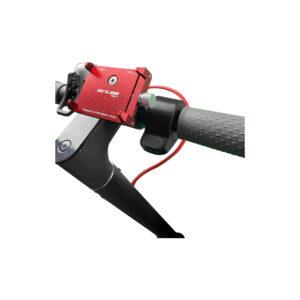 gub pro rouge support telephone trottinette electrique wattiz