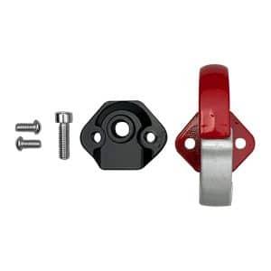 crochet sac aluminium rouge xiaomi trottinette electrique wattiz