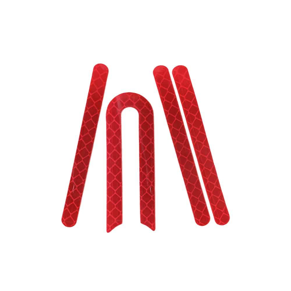 Stickers Cache Axe De Roue Xiaomi M365 & M365Pro - Couleur Rouge trottinette electrique wattiz