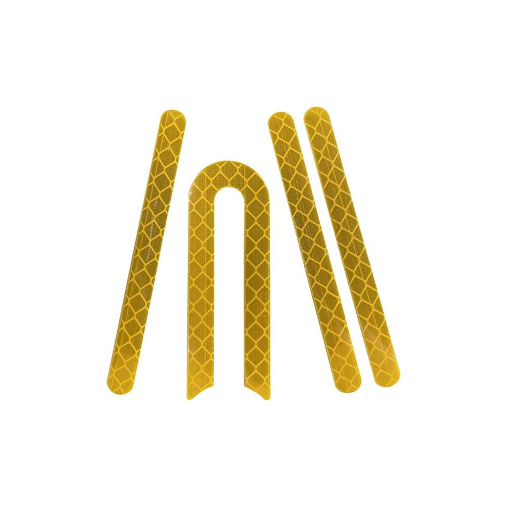 stickers jaune cache roue xiaomi m365 trottinette electrique wattiz
