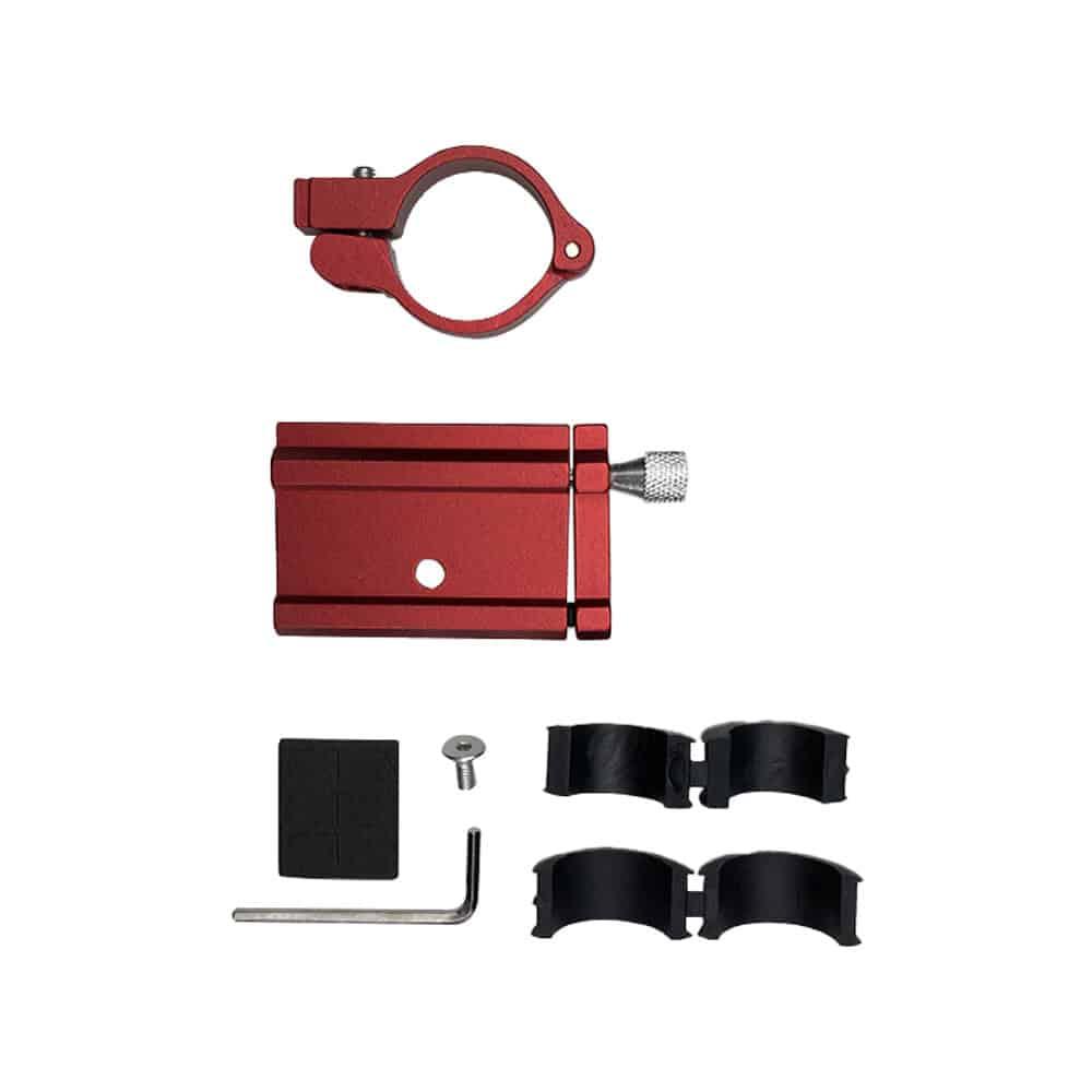 Support Téléphone - Couleur Rouge trottinette electrique wattiz