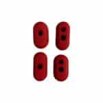 Lot De 4 Bouchons Protection Câbles Xiaomi M365 & M365Pro trottinette electrique wattiz