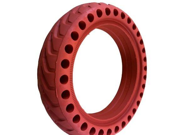 pneu plein 8 5x2 xiaomi rouge wattiz pneus trottinette electrique 2